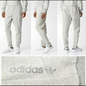 Adidas drop crotch zipper pocket football pants